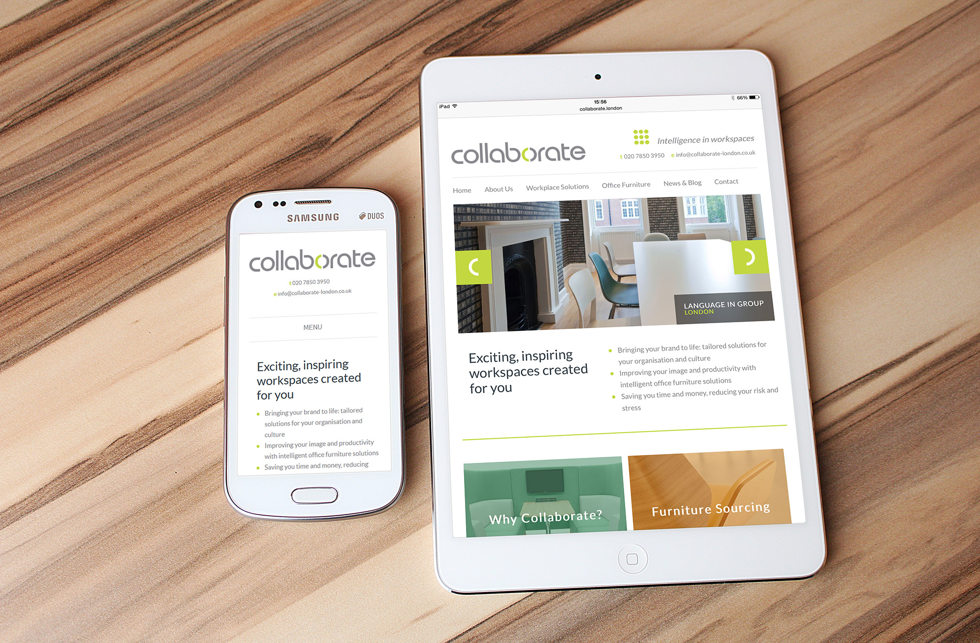 Web Design - Collaborate