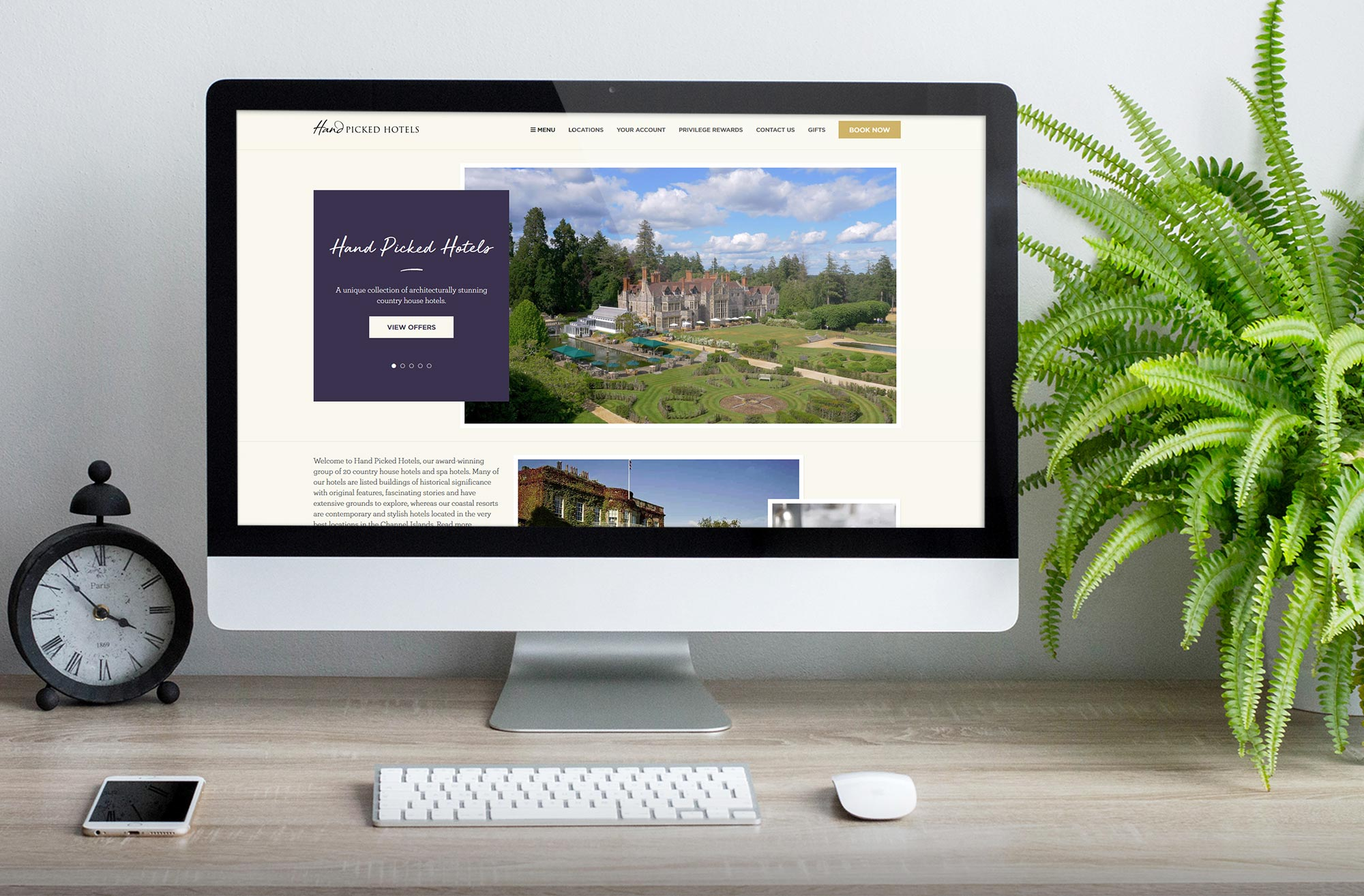 Web Design - Hand Picked Hotels
