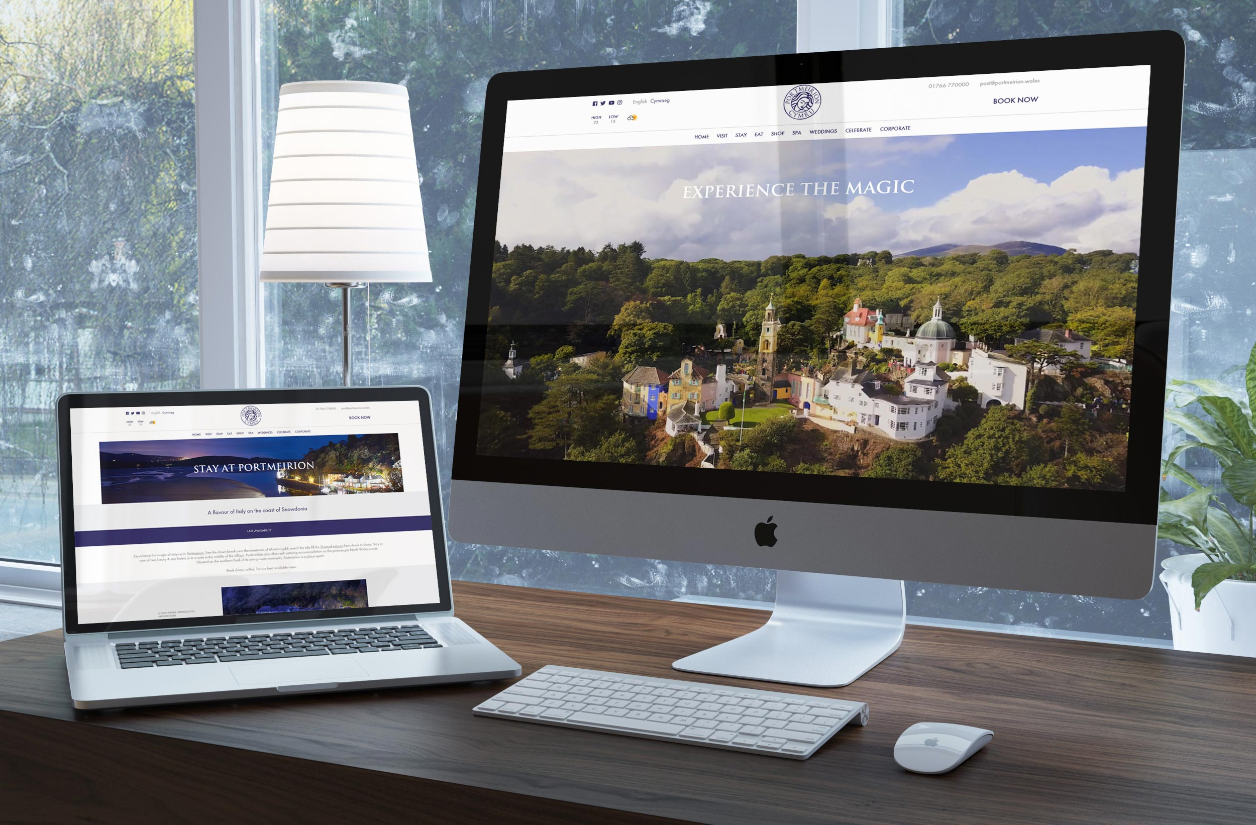 Web Development - Portmeirion