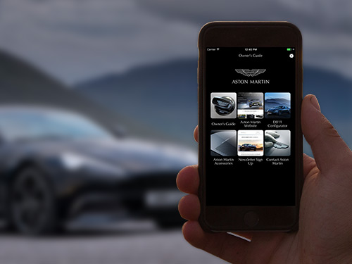 Aston Martin Owner's Guide App
