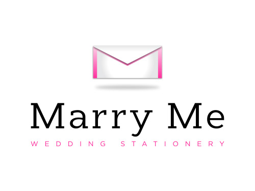 Marry Me Wedding Stationery Branding