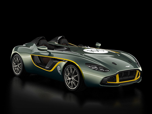 Aston Martin CC100 Website