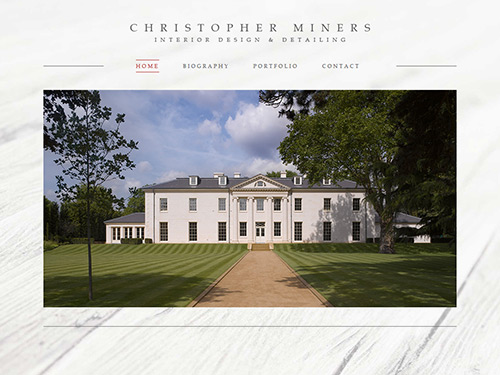 Christopher Miners Website