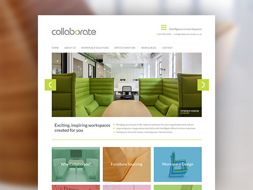 Collaborate Responsive Website