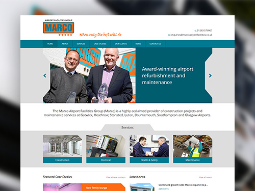 Marco Airport Facilities Website