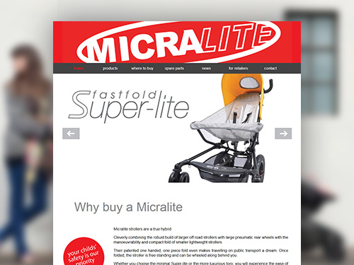 Micralite Website