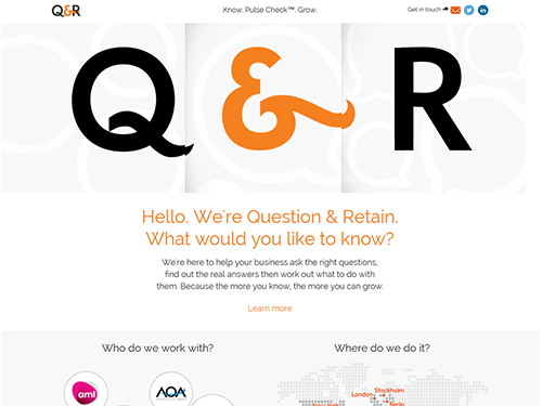 Question &amp Retain Business System