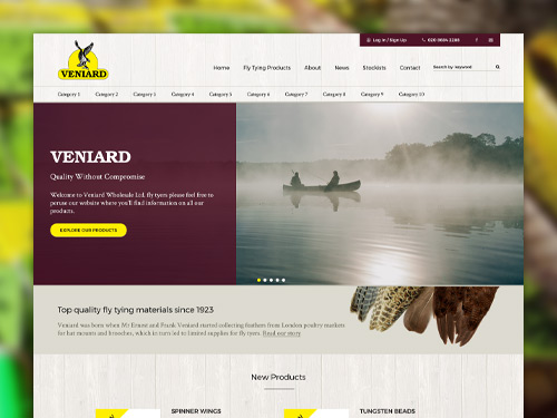 Veniard Website